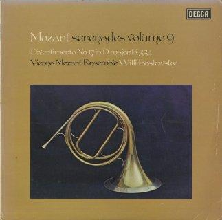 モーツァルト:セレナーデ集Vol.9/ディヴェルティメント17番K.334
