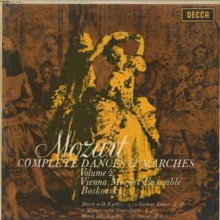 「モーツァルト:舞曲・行進曲全集Vol.2」行進曲K.408-2・3,ドイツ舞曲K.586,コントルダンスK.463,メニエットK.65a