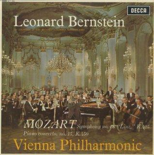 モーツァルト:ピアノ協奏曲15番K.450,交響曲36番K.425「リンツ」