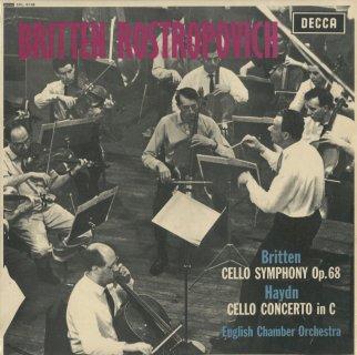 ブリテン:チェロ交響曲Op.68,ハイドン:チェロ協奏曲