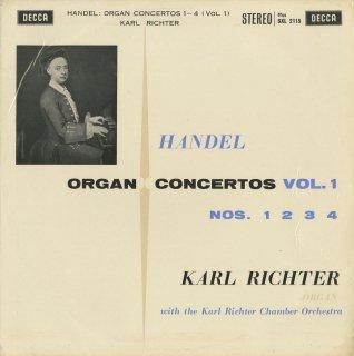 ヘンデル:オルガン協奏曲(全12曲)/Op.4-1〜6,Op.7-1〜6