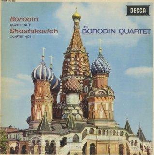 ボロディン:弦楽四重奏曲2番,ショスタコーヴィチ:弦楽四重奏曲8番Op.110