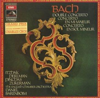 バッハ:ヴァイオリン協奏曲2番BWV.1042,2ヴァイオリン協奏曲BWV.1043,他(ト短調)