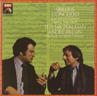 シベリウス:ヴァイオリン協奏曲Op.47,シンディング:組曲Op.10