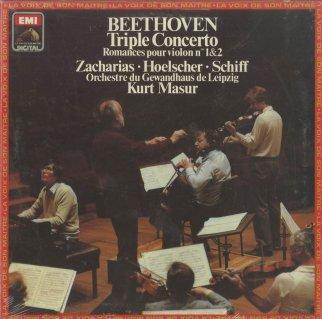 ベートーヴェン:三重協奏曲Op.56,ロマンス1番Op.40,2番Op.50