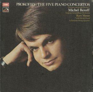 プロコフィエフ:ピアノ協奏曲全集(全5曲),ヘブライの主題による組曲Op.34