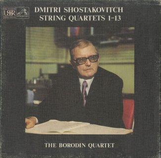 ショスタコーヴィチ:弦楽四重奏曲1-13番