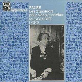 フォーレ:ピアノ四重奏曲1番Op.15,2番Op.45