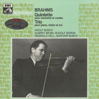 ブラームス:クラリネット五重奏曲Op.115,ホルン・トリオOp.40