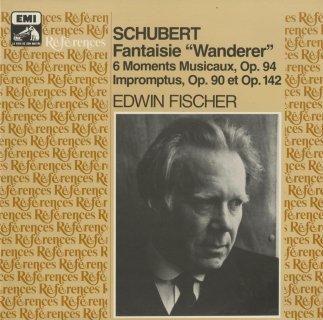 シューベルト・ピアノ曲集/さすらい人幻想曲Op.15,楽興の時Op.94,即興曲Op.90,Op.142