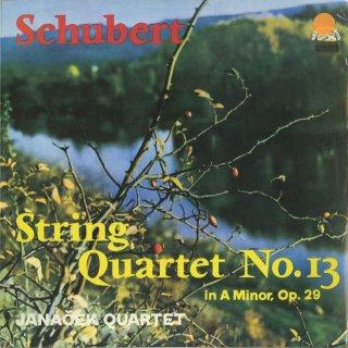 シューベルト:弦楽四重奏曲13番Op.29