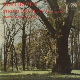 ベートーヴェン:弦楽四重奏曲1番Op.18-1,11番Op.95