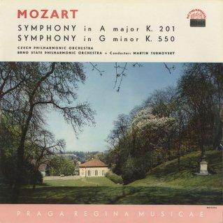 モーツァルト:交響曲29番K.201,40番K.550