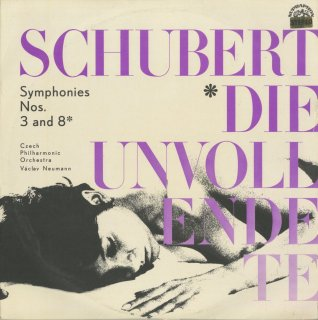 シューベルト:交響曲3,8番「未完成」