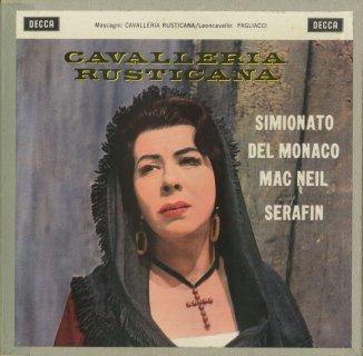 マスカーニ:「カヴァレリア・ルスティカーナ」(全曲),レオンカヴァッロ:「道化師」(全曲)