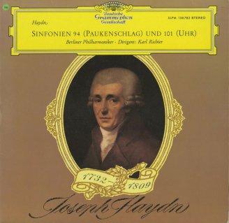 ハイドン:交響曲94番「驚愕」,101番「時計」