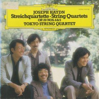 ハイドン:弦楽四重奏曲34番Op.20-4,35番Op.20-5