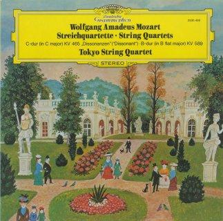 モーツァルト:弦楽四重奏曲19番K.465「不協和音」,22番K.589