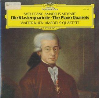 モーツァルト:ピアノ四重奏曲1番K.478,2番K.493