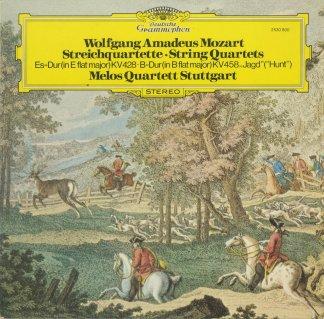 モーツァルト:弦楽四重奏曲16番K.428,17番K.458「狩」