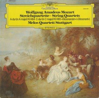 モーツァルト:弦楽四重奏曲18番K.464,19番K.465「不協和音」