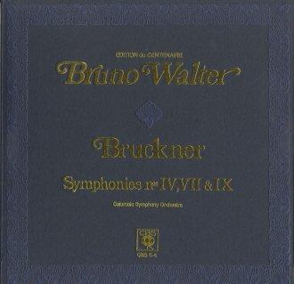 ブルックナー:交響曲4番「ロマンティック」,7番(原典版),9番
