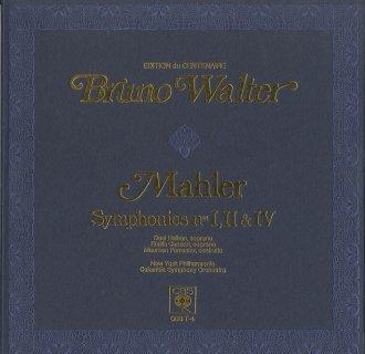 マーラー:交響曲1,2,4番