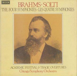 ブラームス:交響曲全集(4曲),大学祝典序曲,悲劇的序曲