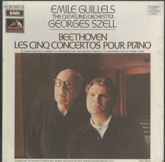 ベートーヴェン:ピアノ協奏曲1〜5番,「森のおとめ」変奏曲,創作主題による32の変奏曲,6つの変奏曲Op.76