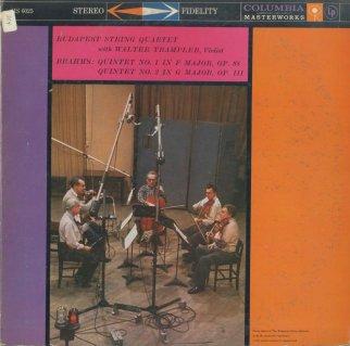 ブラームス:弦楽五重奏曲1番Op.88,2番Op.111