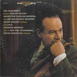 ウォルトン:ヴァイオリン協奏曲,ラロ:スペイン交響曲