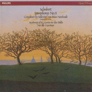 シューベルト:交響曲8番(ニューボールト補筆・完成版),交響的断章