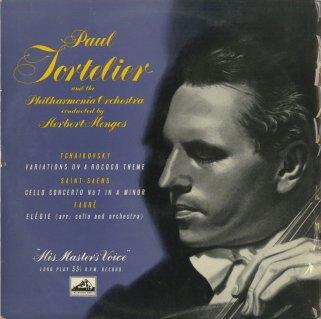 チャイコフスキー:ロココ変奏曲Op.33,サン・サーンス:チェロ協奏曲1番Op.33,フォーレ:エレジーOp.24