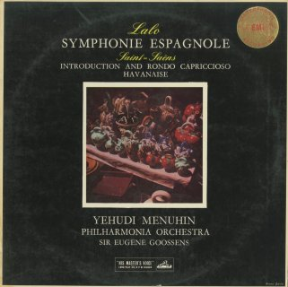 ラロ:スペイン交響曲Op.21,サン・サーンス:序奏とロンド・カプリッチョーソOp.28,ハバネラOp.83