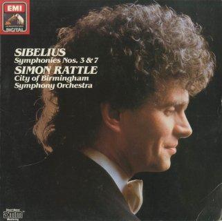 シベリウス:交響曲3番Op.52,7番Op.105