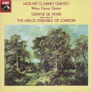 クラリネット五重奏曲集/モーツァルト:K.581,ウェーバー:Op.34