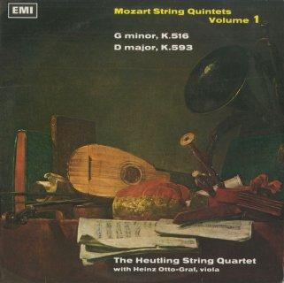 「モーツァルト:弦楽五重奏曲集Vol.1」4番K.516,5番K.593