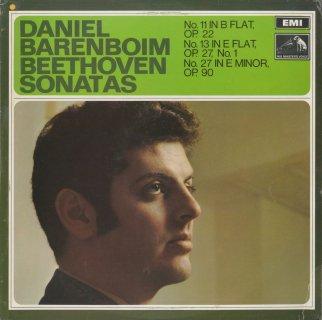 ベートーヴェン:ピアノ・ソナタ11番Op.22,13番Op.27−1,27番Op.90
