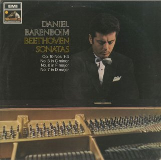 ベートーヴェン:ピアノ・ソナタ5〜7番Op.10