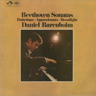 ベートーヴェン:ピアノ・ソナタ14番Op.27-2「月光」,8番Op.13「悲愴」,23番Op.57「熱情」