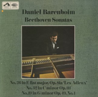 ベートーヴェン:ピアノ・ソナタ26番「告別」,19番Op.49-1,32番Op.111