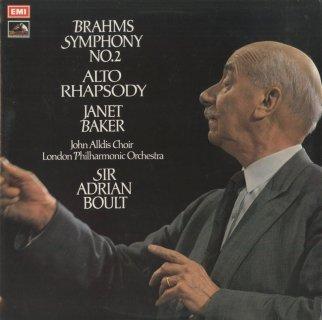 ブラームス:交響曲2番Op.73,アルト・ラプソディOp.53