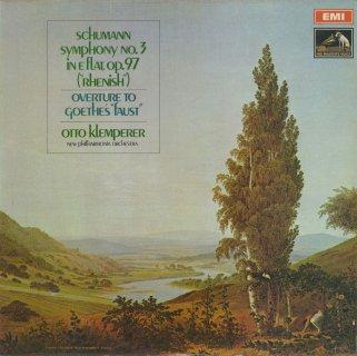 シューマン:交響曲3番Op.97「ライン」,「ファウスト」序曲