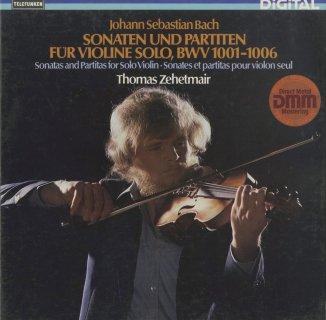 バッハ:6つの無伴奏ヴァイオリン・ソナタBWV.1001〜1006