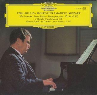 モーツァルト:ピアノ・ソナタ3番K.281,8番K.310,幻想曲K.397,パイジェッロの主題による6つの変奏曲K.398