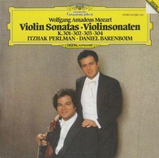モーツァルト:ヴァイオリン・ソナタK.301〜304
