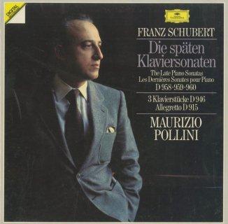 「シューベルト:後期ピアノ・ソナタ集」ソナタ19,20,21番,3つのピアノ曲(即興曲),アレグレット