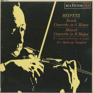 ヴァイオリン協奏曲集/モーツァルト:4番K.218,ブルッフ:1番Op.26