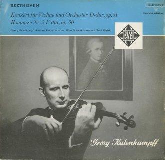 ベートーヴェン:ヴァイオリン協奏曲Op.61,ロマンス2番Op.50