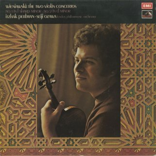 ヴィエニャフスキ:ヴァイオリン協奏曲1番Op.14,2番Op.22